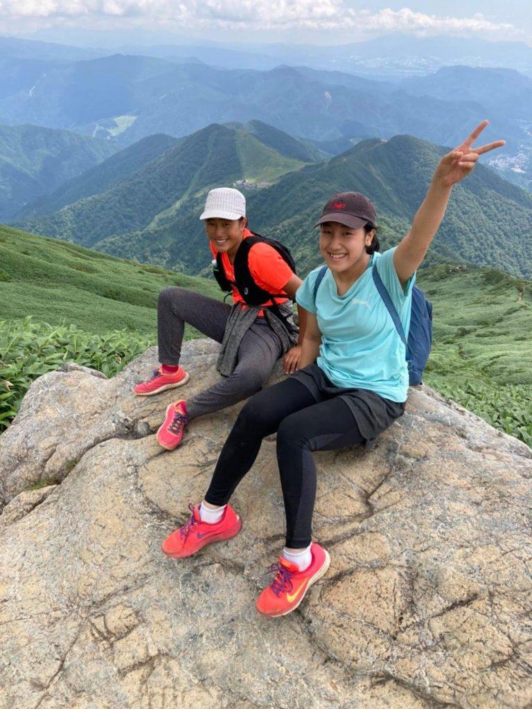 2020年の夏に谷川岳を登った時のお2人