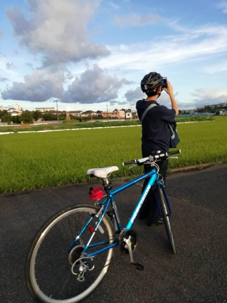毎日40分自転車を楽しみながら通学